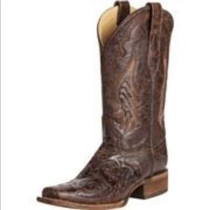 Corral Chocolate Inlay Boot